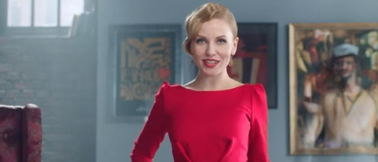 Актриса играет в ролике м-видео